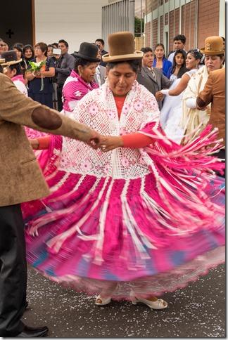 Peruvian wedding celebration