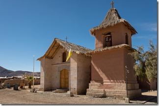 Simple church in Socoroma