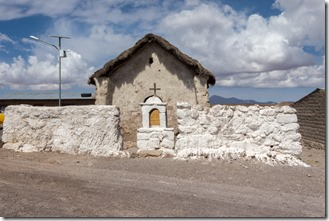 In the village of Guallatire