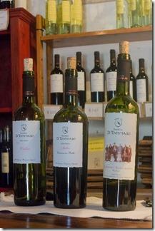 Three standard wines to taste