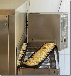 Empanadas cooking