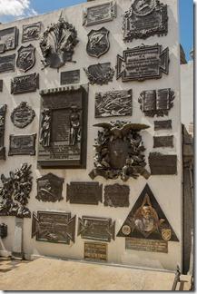 Sarmiento family plaques