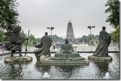 Just a few of the statues