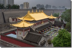 Lama Temple from the wall