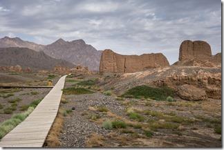 Deserted ruins of Subashi