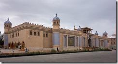 Rebuilt palace