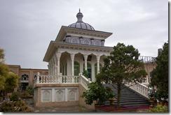 Rebuilt mausoleum