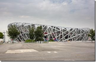 The Bird's Nest stadium is still impressive