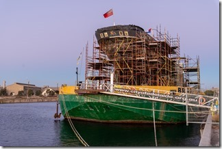 City of Adelaide Clipper being restored