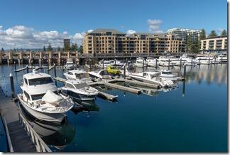 The marina at Glenelg