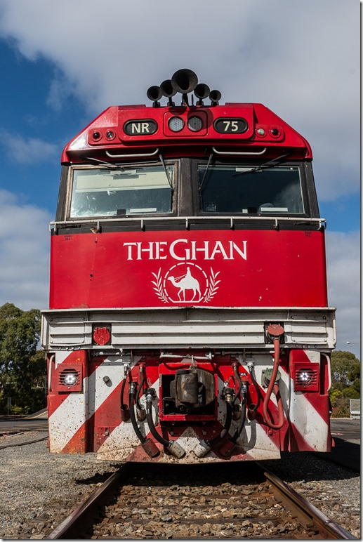 Iconic pic of the Ghan taken by Dave