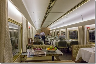 Platinum dining car