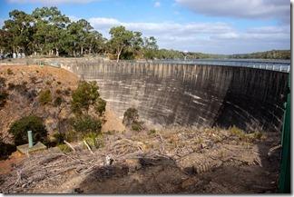 Whispering wall AKA a dam