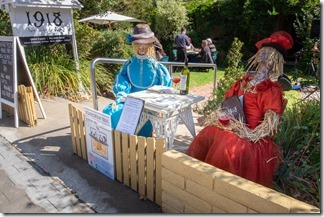 Scarecrow trail in Tanunda reminds us of Hagbourne