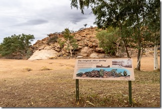 The namig of Alice Springs