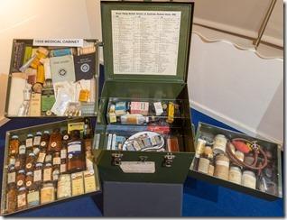 1950s medical kit