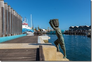 Fishermens monument