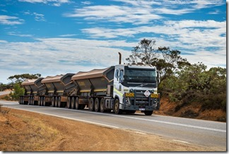 Our first road train