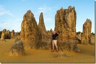 Random tourist at the Pinnacles
