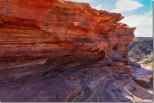 Multicoloured rocks