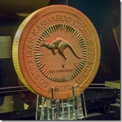 A 1 tonne gold coin