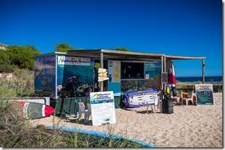 Kayak hire shack