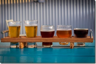 Yummy tasters (except the porter)