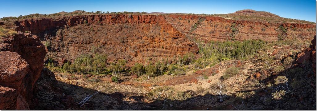 Spectacular gorge