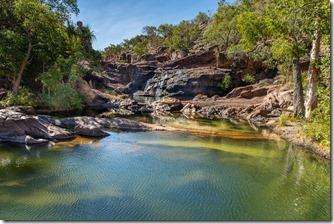 Pool at top of Gunlom Falls