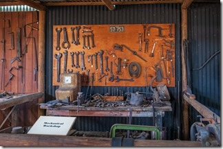 A workshop of tools