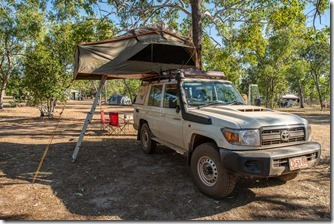 Final camping in the Beast