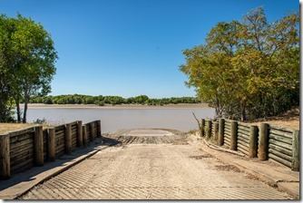 Boat ramp at South Alligator River crossing