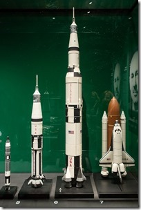 The Airfix Saturn V model that I had...