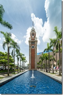 Clock Tower on riverfront