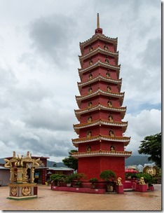Pagoda at the top of the hill