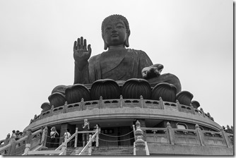 The Big Buddha looking down on us all