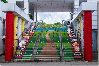 Steps to Kowloon Park
