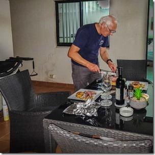 Master chef at work!